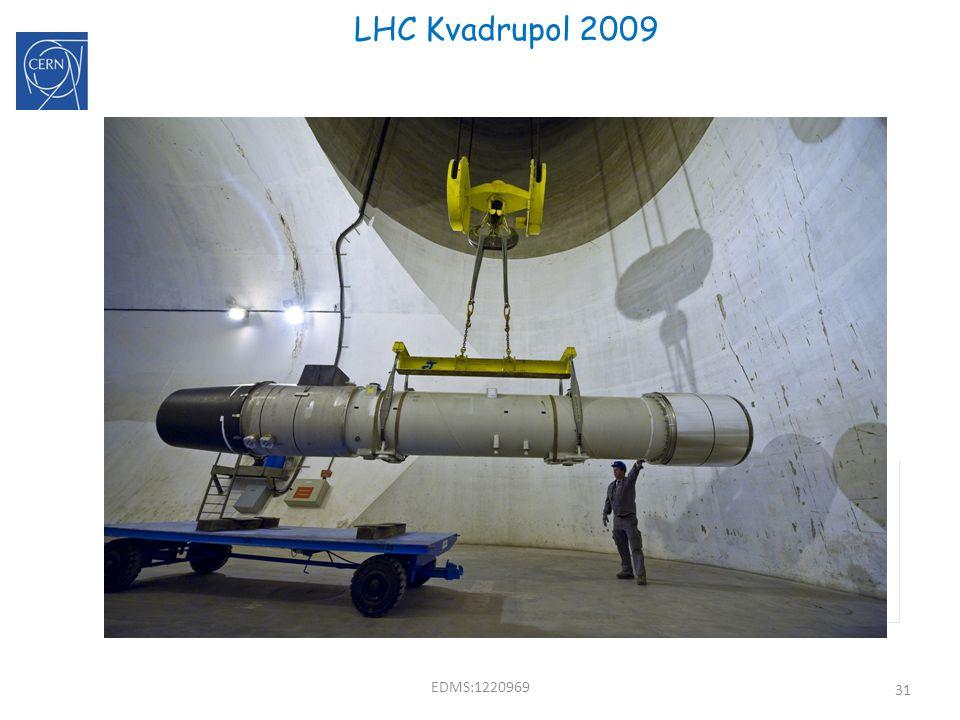 31 LHC Kvadrupol 2009 F D B B B EDMS:1220969