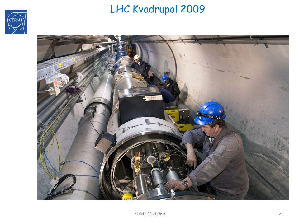 32 LHC Kvadrupol 2009 F D B B B EDMS:1220969