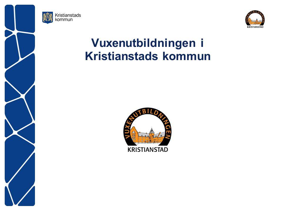 Vuxenutbildningen i Kristianstads kommun