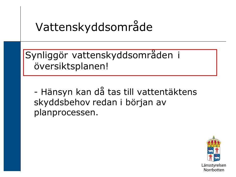 2006-12-24 Sven Svensson Vattenförsörjningsplan Vad.
