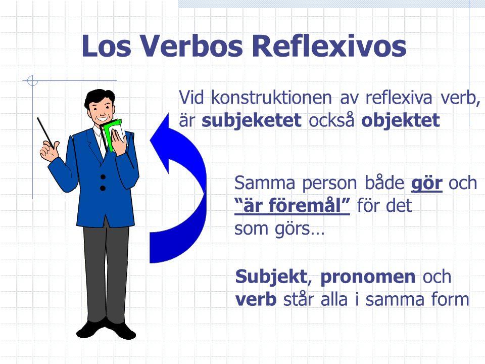 Richard Jensen, Sandeplanskolan, Höllviken - www.lektion.se Los verbos reflexivos en español…