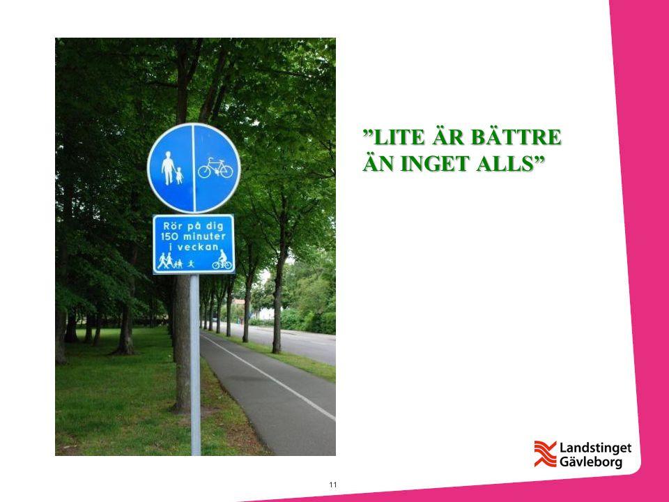 """11 """"LITE ÄR BÄTTRE ÄN INGET ALLS"""""""
