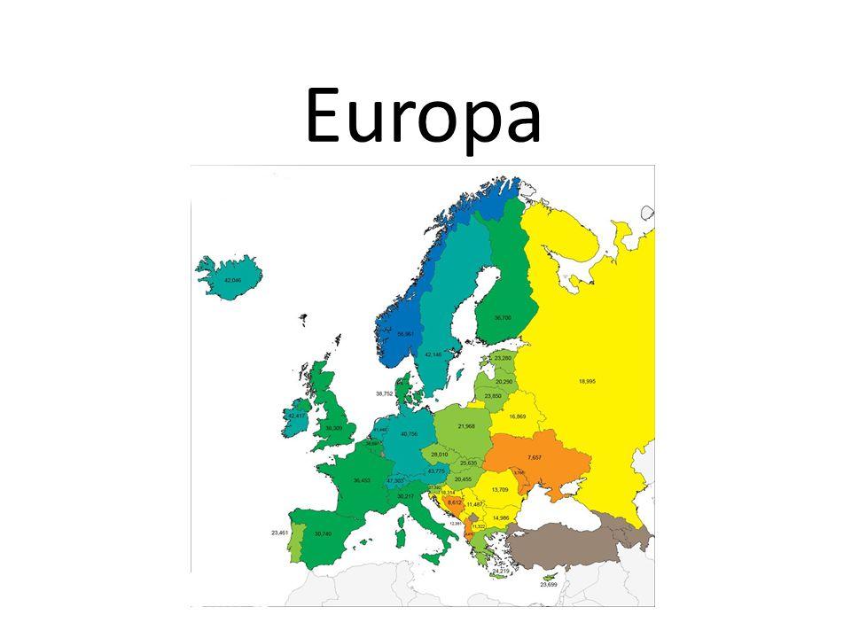 Södra Europa De flesta länder i södra Europa ligger vid Medelhavet.