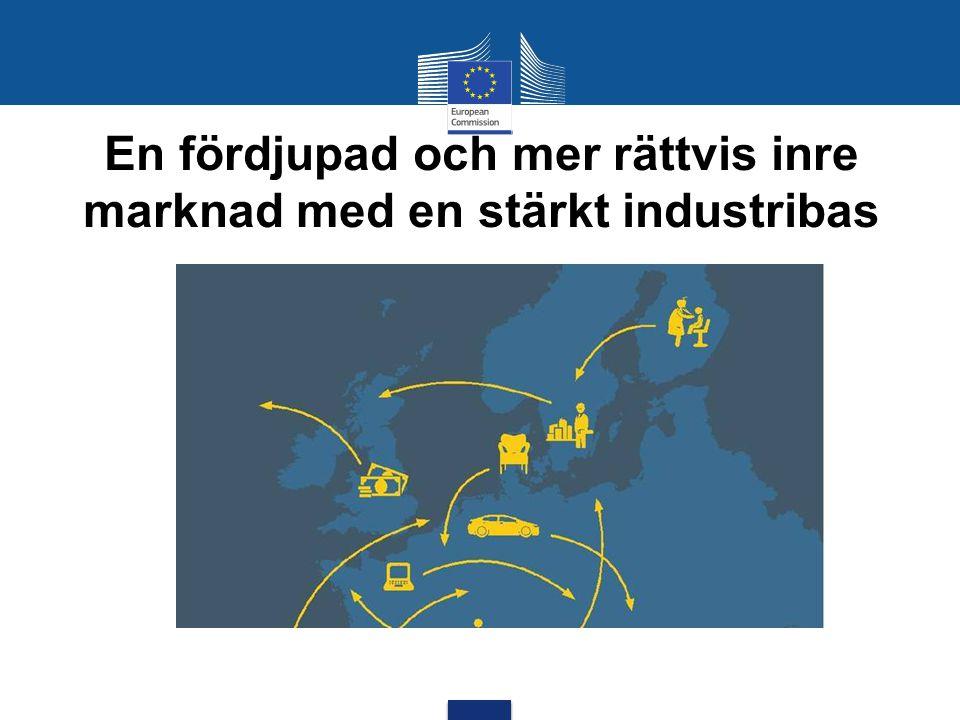 En fördjupad och mer rättvis inre marknad med en stärkt industribas