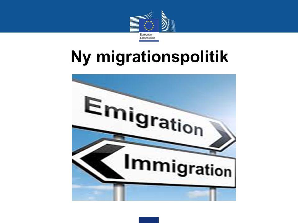 Ny migrationspolitik