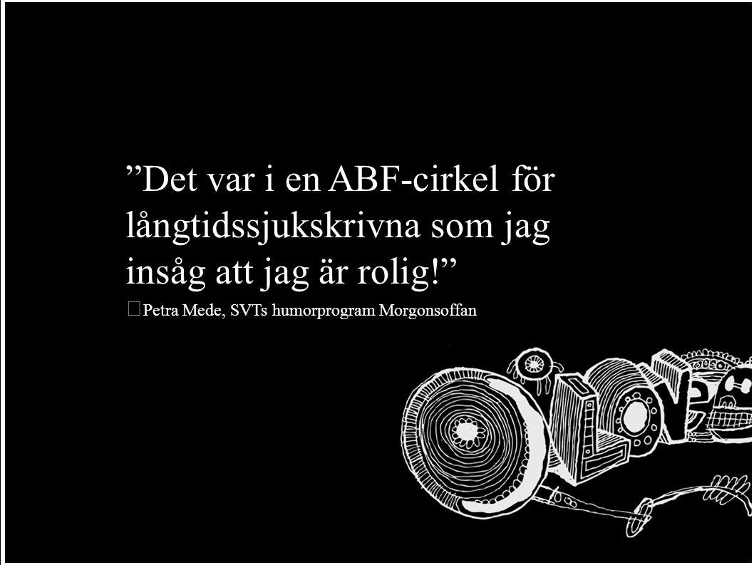 Sverige är till en grundläggande grad en studiecirkeldemokrati. Olof Palme