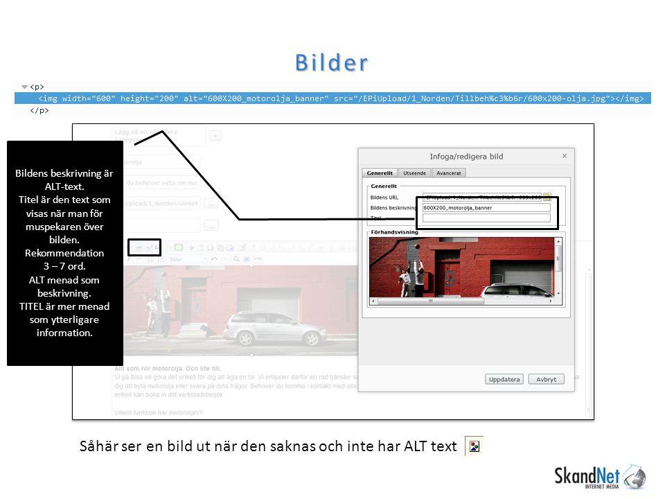 Bilder Bildens beskrivning är ALT-text.