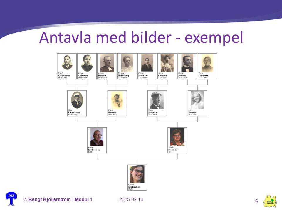 Antavla med bilder - exempel © Bengt Kjöllerström | Modul 12015-02-10 6