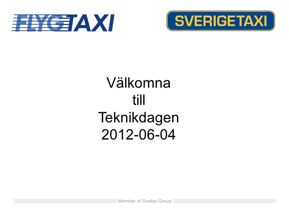 Välkomna till Teknikdagen 2012-06-04