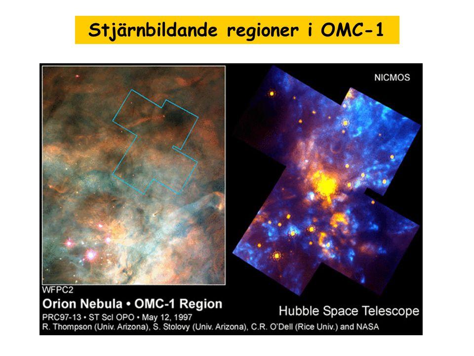 Stjärnbildande regioner i OMC-1