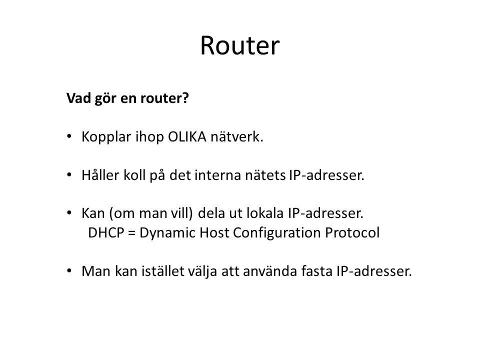 Router Datorteknik 1A V20116 OSI