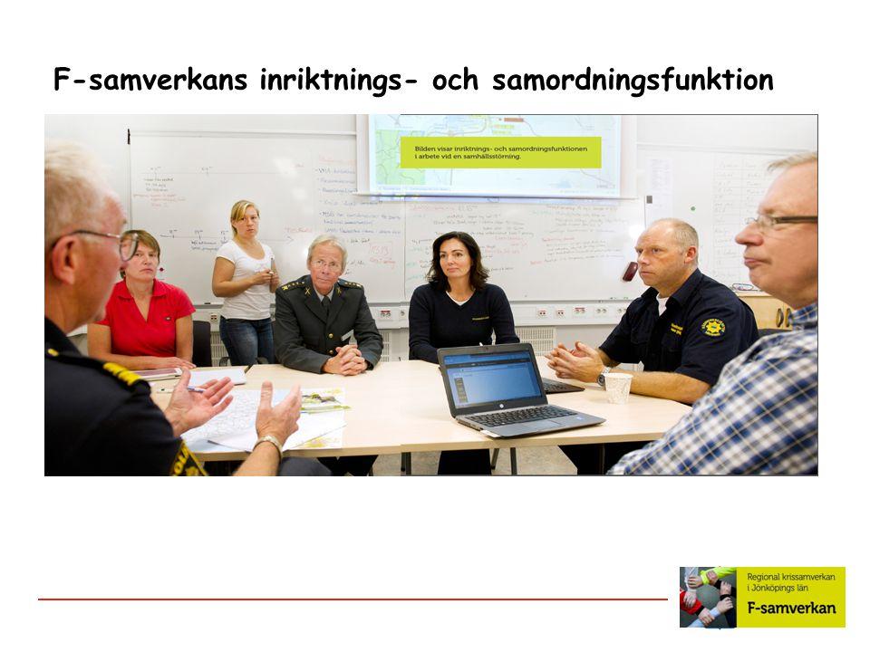 F-samverkans inriktnings- och samordningsfunktion