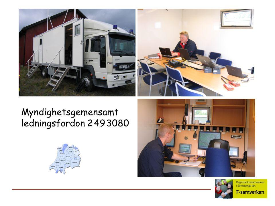 Myndighetsgemensamt ledningsfordon 2 49 3080