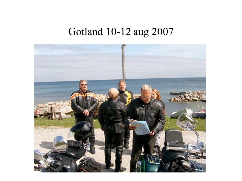 Gotland 10-12 aug 2007