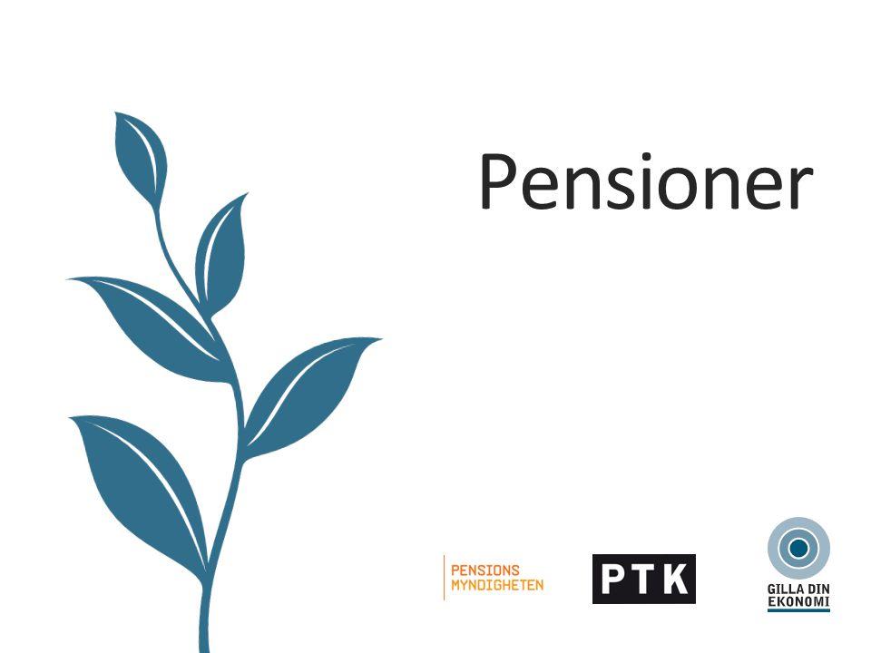 För att uppdatera sidfotstexten, gå till menyfliken: Infoga | Sidhuvud och sidfot. ALLMÄN PENSION 1 Pensioner