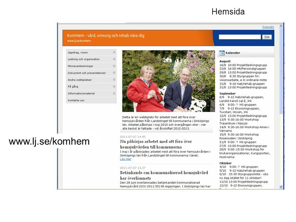 www.lj.se/komhem Hemsida