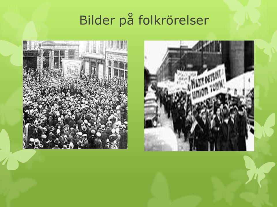 Bilder på folkrörelser