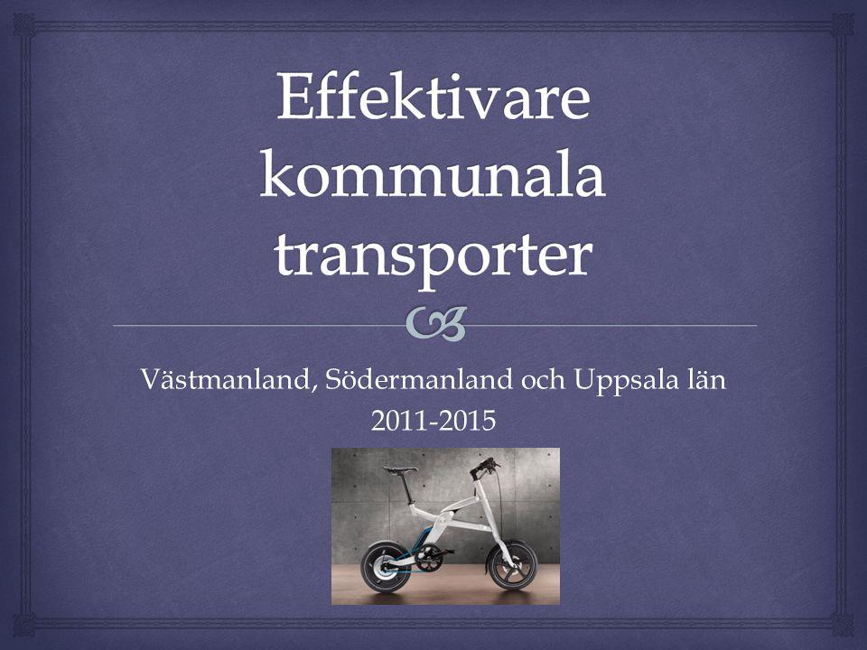 Västmanland, Södermanland och Uppsala län 2011-2015