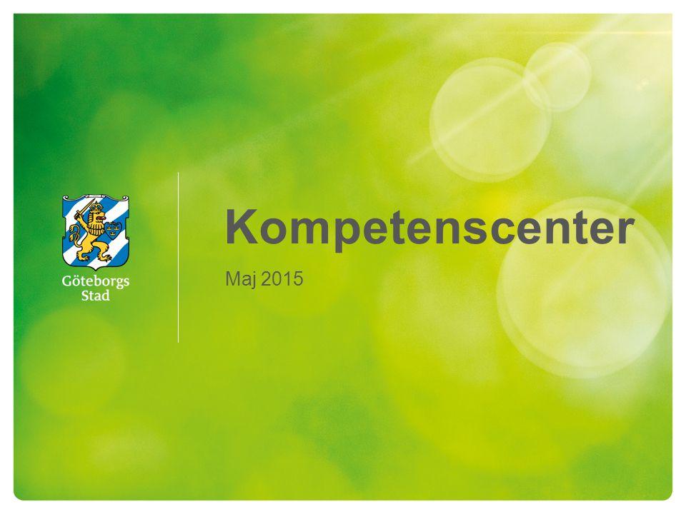 Kompetenscenter antal - lokal 2 HÅLLBAR STAD – ÖPPEN FÖR VÄRLDEN Angered AngeredLokal: Angeredsvinkeln Gamlestaden Östra GöteborgLokal: Gamlestadstorget/ Nya Kulan HisingenLundbyLokal: Vågmästaregatan N Hisingen V Hisingen Centrum/VästerÖrgryte - HärlandaLokal: Nära Järntorget Majorna - Linné Centrum Askim - Frölunda - Högsbo V Göteborg