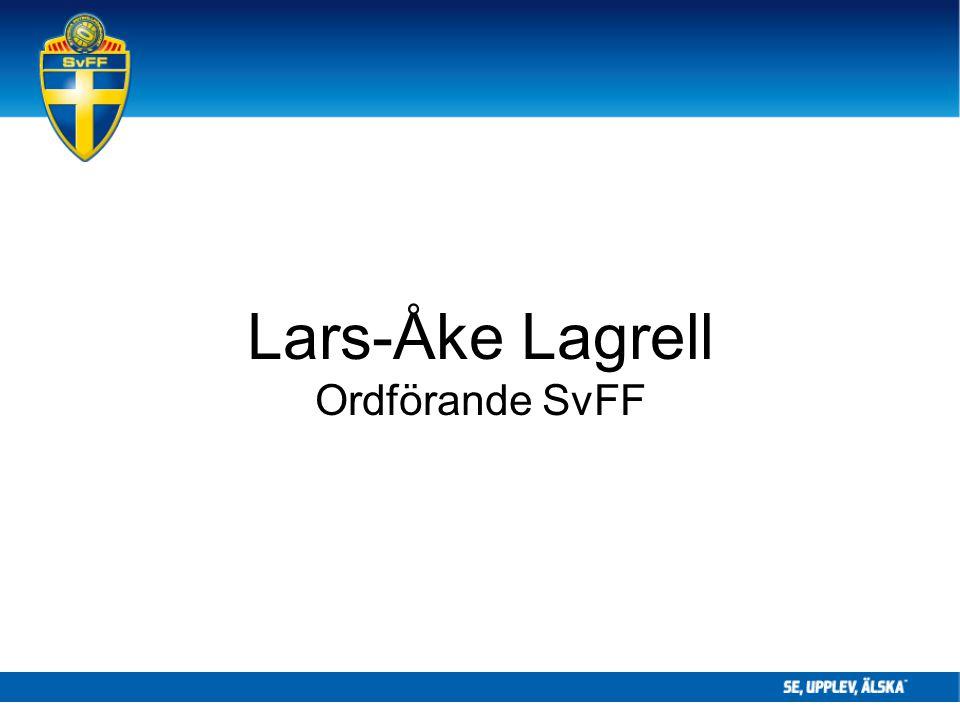 Lars-Åke Lagrell Ordförande SvFF