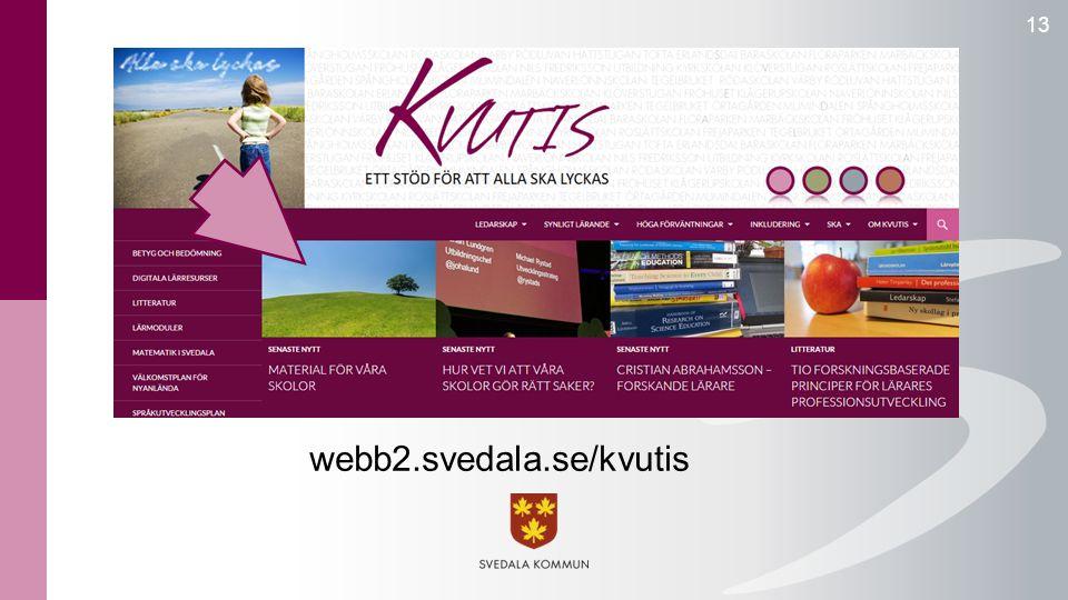 13 webb2.svedala.se/kvutis