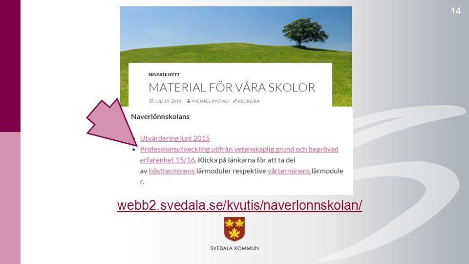 14 webb2.svedala.se/kvutis/naverlonnskolan/