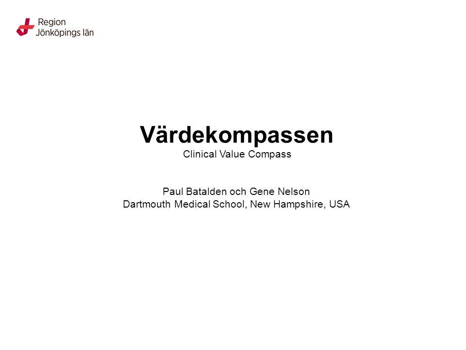 Värdekompass – hantering av farligt avfall Teknik- och driftsektionen, Landstinget i Jönköpings län Professionell kvalitet Funktion Resurs Upplevelse Godkända godsdeklarationer Följsamhet till miljölagstiftning, ADR-s och vägtrafikförordning Säkra transporter – rätt lastat Mängd avfall enligt miljötillstånd Rutiner är enkla och säkra God kommunikation - kontaktpersoner och återkoppling Lättillgänglig information Nöjd kund Utbildade chaufförer och miljövaktmästare i ADR-s Samarbete miljöenheten och säkerhetsrådgivare Transportfordon Utbildade avsändare (kunden) Mellanlagring, enligt miljöbalken System för återkoppling till kunder System för ADR-s – utbildning för avsändare i vården och transportörer Dokumentation och uppföljning definierad Bästa möjliga hantering av farligt avfall