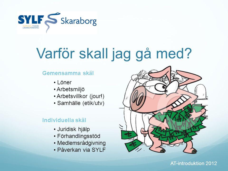 (Hur går jag med?) AT-introduktion 2012 Bli medlem slf.se
