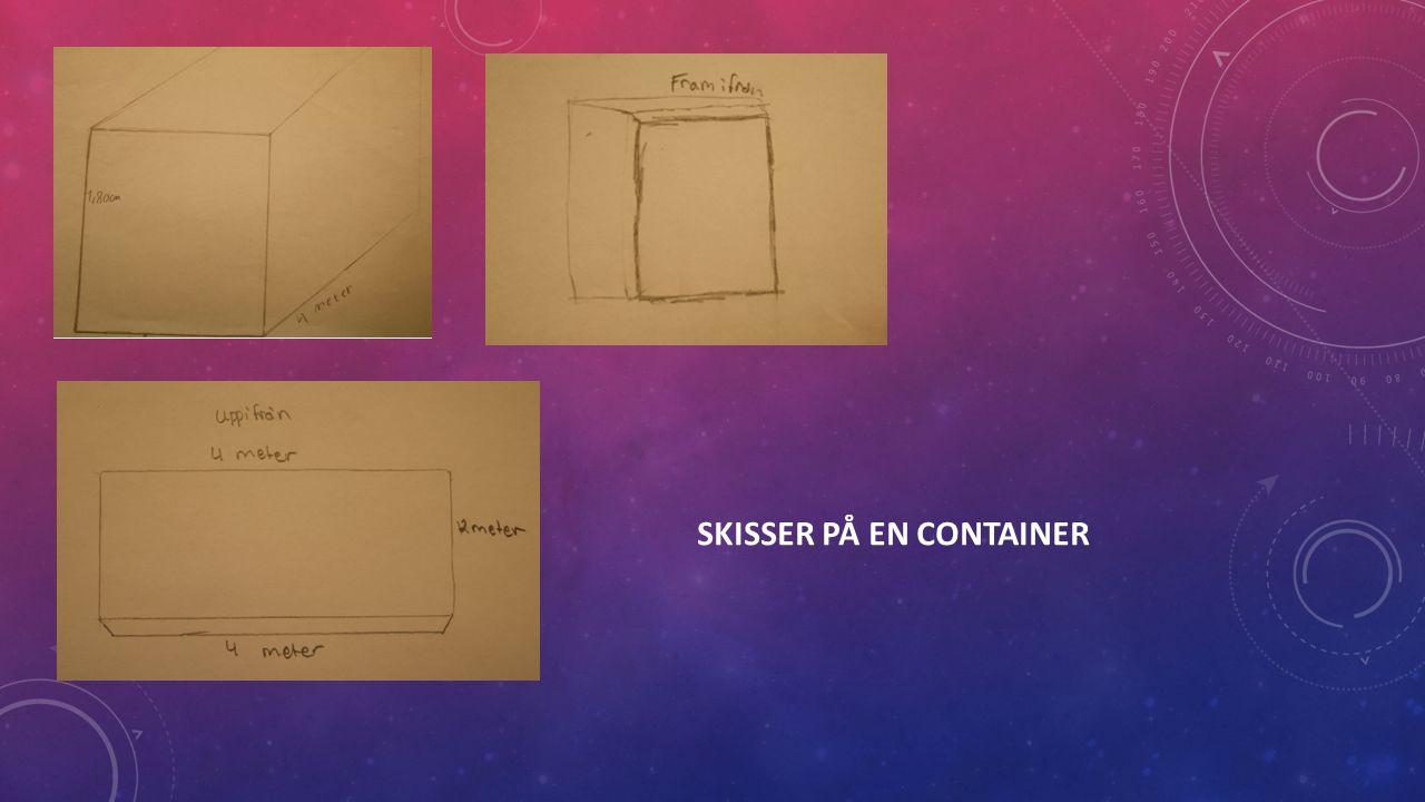 SKISSER PÅ EN CONTAINER