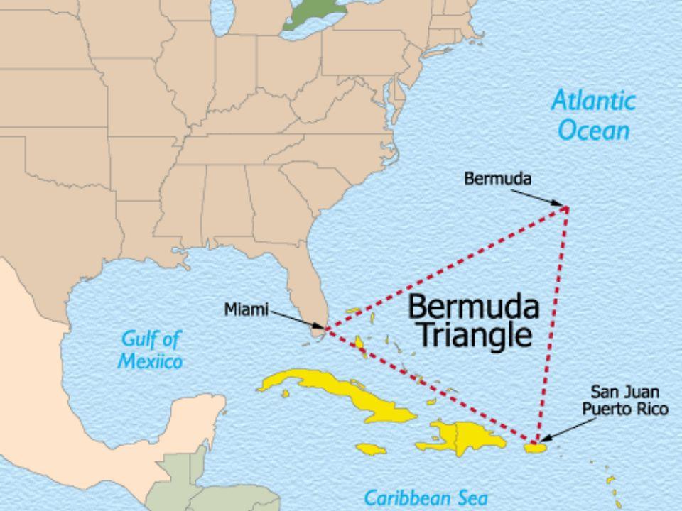 Bermudatriangeln En mytomspunnen geometrisk figur