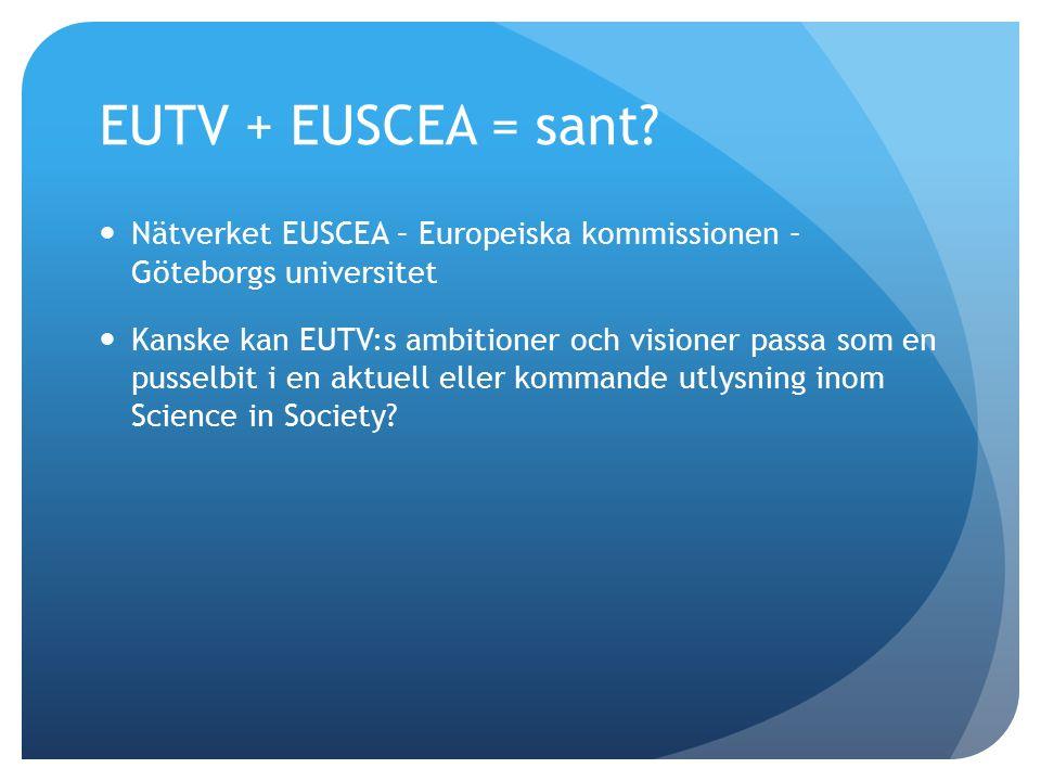EUTV + EUSCEA = sant.