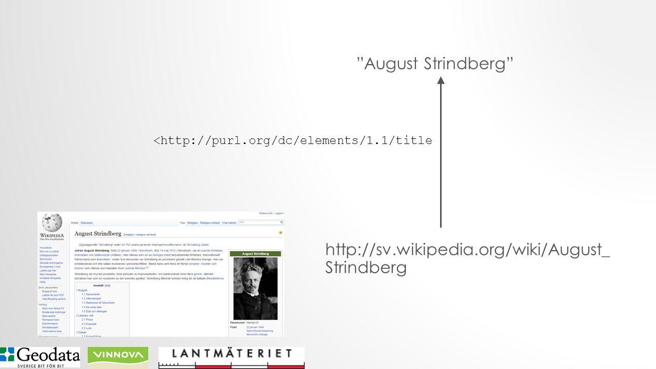 http://sv.wikipedia.org/wiki/August_ Strindberg August Strindberg <http://purl.org/dc/elements/1.1/title