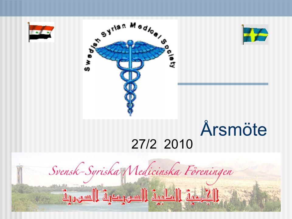 Program 11.00-12. 00 Aktiviteter i Syrien 12.00-13.00 Lunch 13.15-16.00 Årsmöte