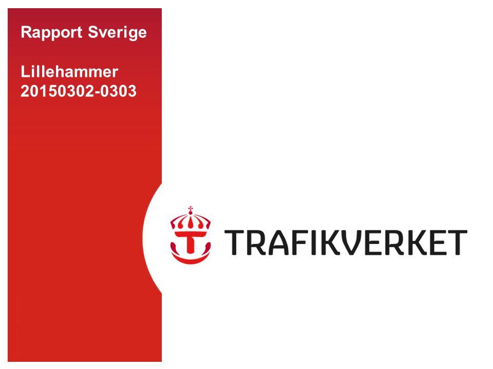 TMALL 0141 Presentation v 1.0 Rapport Sverige Lillehammer 20150302-0303