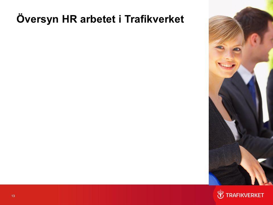 13 Översyn HR arbetet i Trafikverket