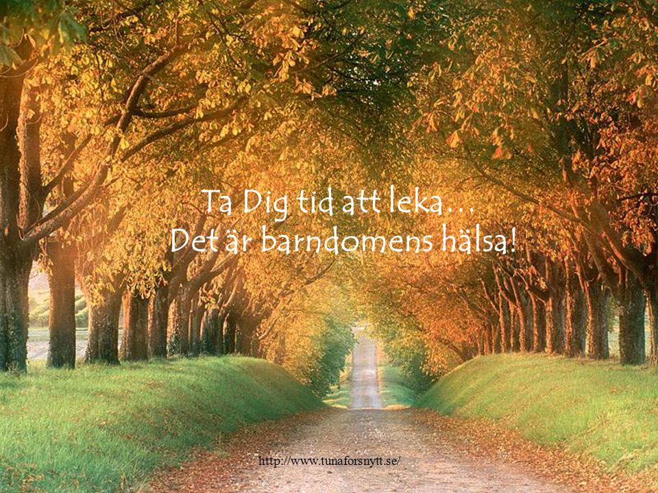 Ta Dig tid att tänka… Det är nyckeln till framgång!. http://www.tunaforsnytt.se/