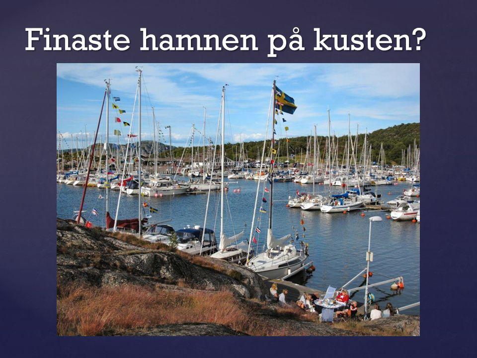 Finaste hamnen på kusten?