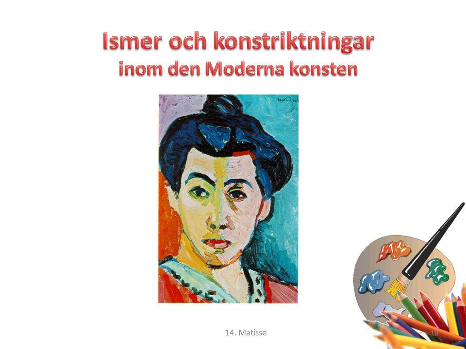 18 14. Matisse