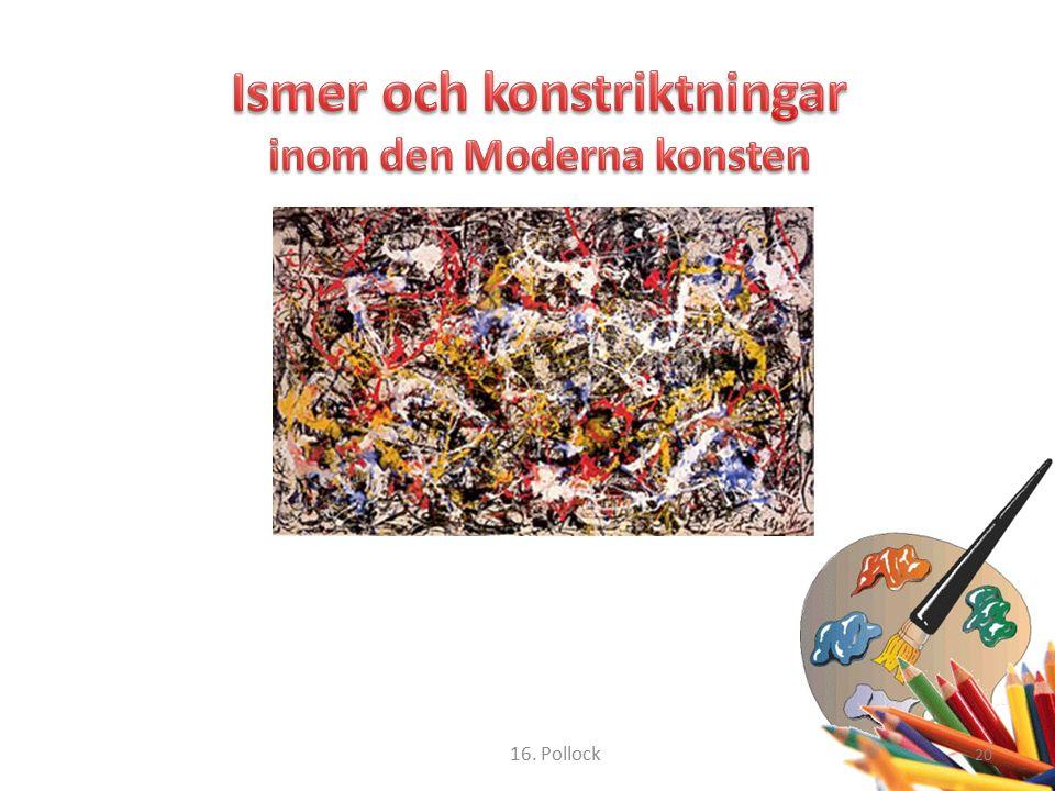 20 16. Pollock