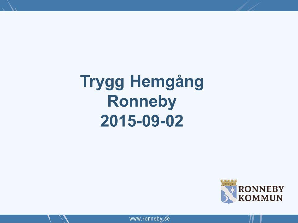 Trygg Hemgång Ronneby 2015-09-02 20 september 2015