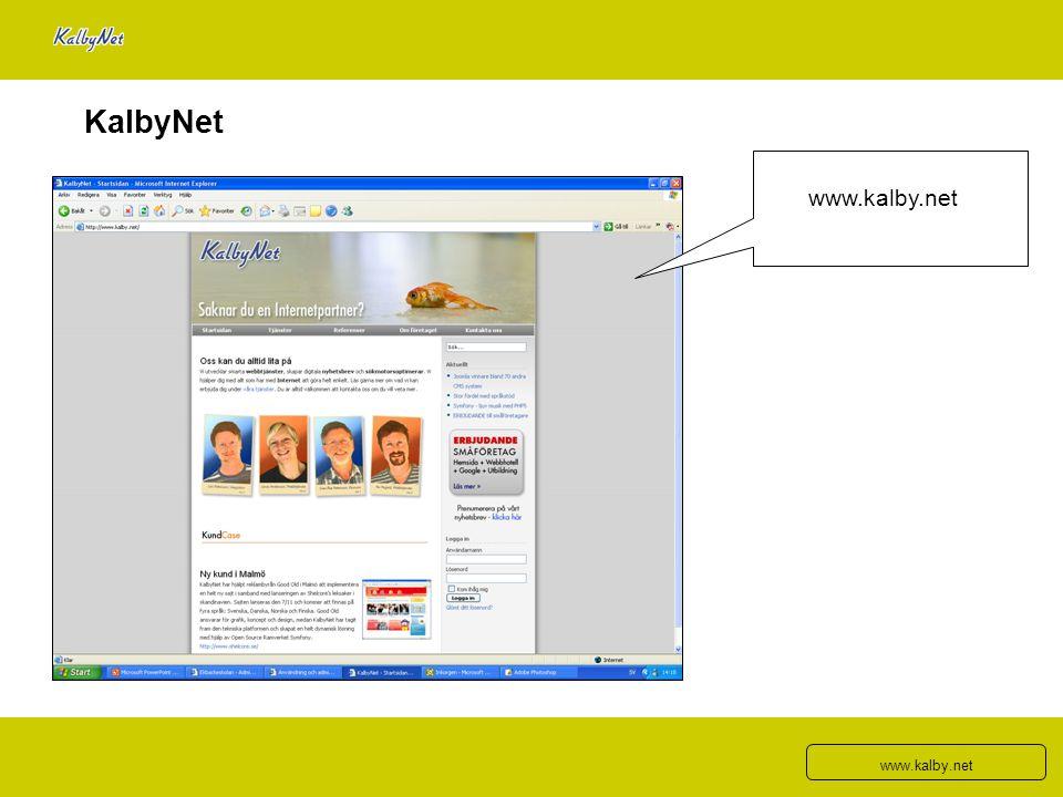 KalbyNet www.kalby.net