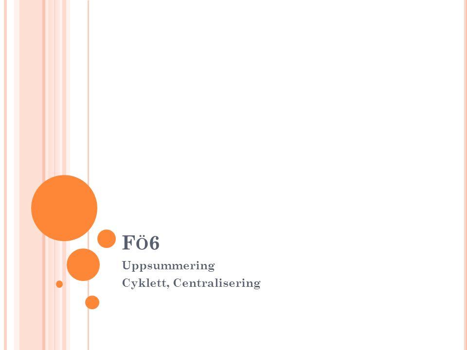 S UMMERING NYCKELTAL R ca 7%, Vm = 8,6 % och KOH = 0,8 (jmf med konkurrenter och branschindex) Lönsamhetsdiagramet, jobba med båda halvorna av DuPont Kassalikviditeten låg, ha koll på denna vid förändringar.