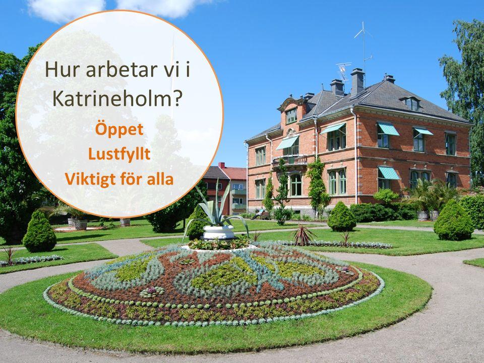 Hur arbetar vi i Katrineholm Öppet Lustfyllt Viktigt för alla