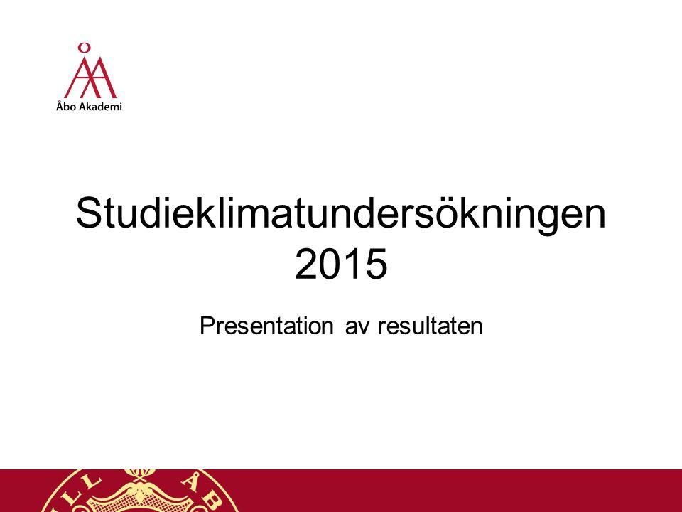 Bedöm studiernas belastning 4.9.201522 Åbo Akademi | Domkyrkotorget 3 | 20500 Åbo