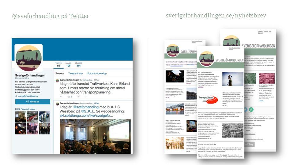 @sveforhandling på Twitter sverigeforhandlingen.se/nyhetsbrev
