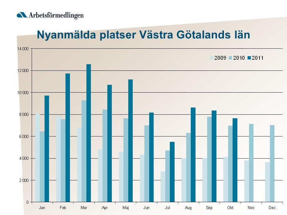 Nyanmälda platser Västra Götalands län
