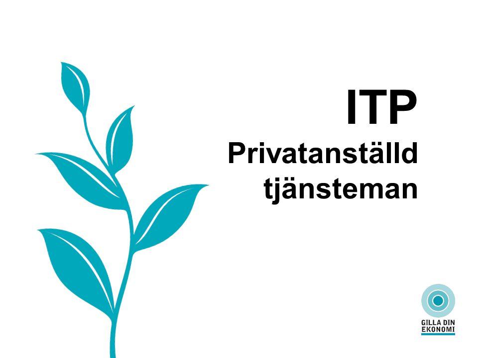ITP Privatanställd tjänsteman