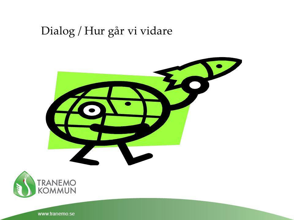 www.tranemo.se Dialog / Hur går vi vidare