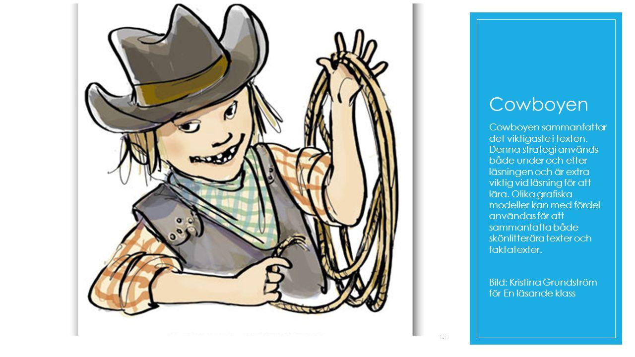 Cowboyen Cowboyen sammanfattar det viktigaste i texten.
