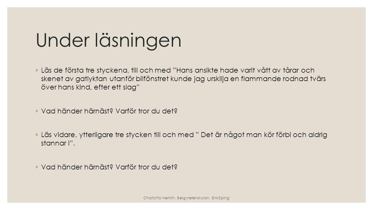 COWBOY-JIM Strategin att sammanfatta Charlotta Hemlin, Bergvretenskolan, Enköping